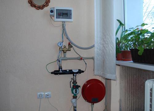 электрический котел отопления своими руками