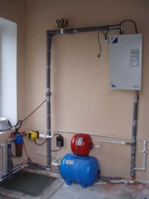 расчет электрокотла для отопления дома