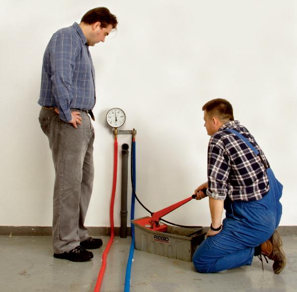 статическое давление в системе отопления