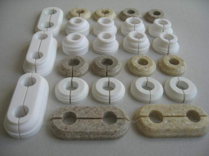 розетки для труб отопления