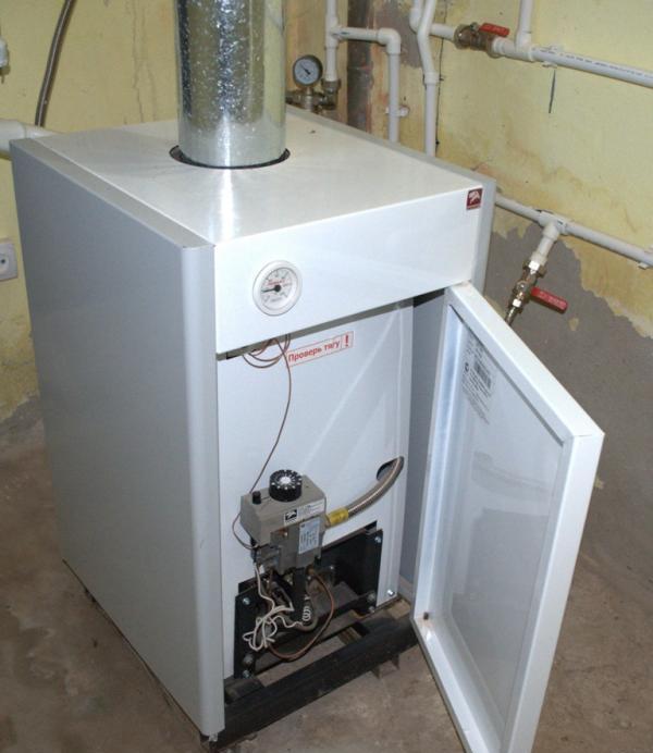 напольные энергонезависимые газовые котлы отопления