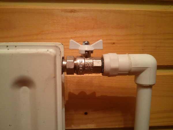 обвязка радиаторов отопления полипропиленом видео