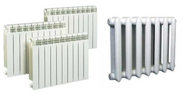 технические характеристики радиаторов отопления