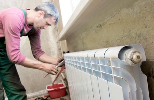 как промыть алюминиевый радиатор отопления