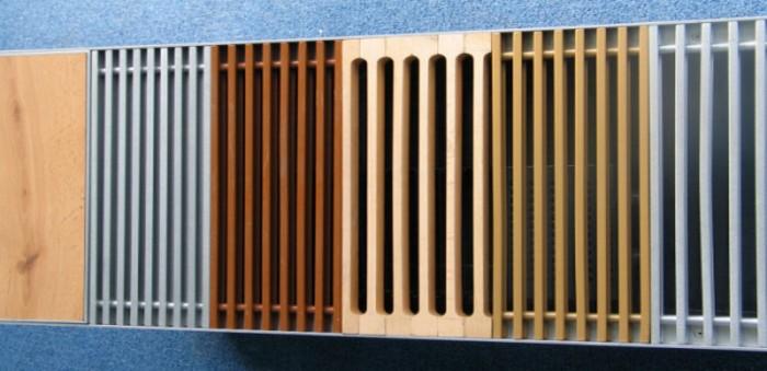 решетки на радиаторы отопления пвх