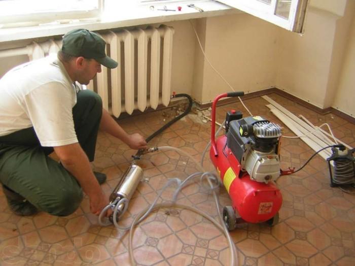 очистка радиаторов отопления