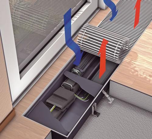 внутрипольные радиаторы отопления