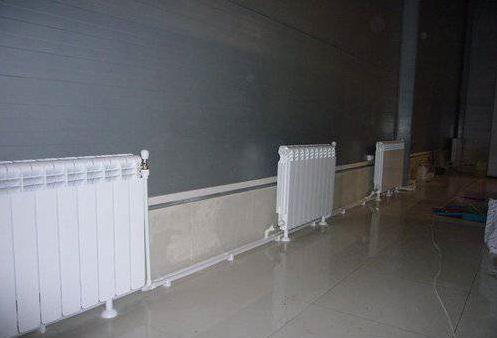 правильная установка радиатора отопления