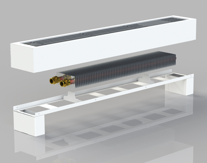 напольные радиаторы отопления водяные