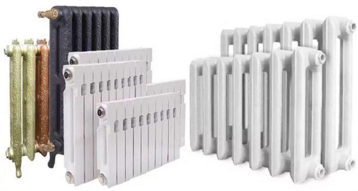виды батарей отопления в квартире